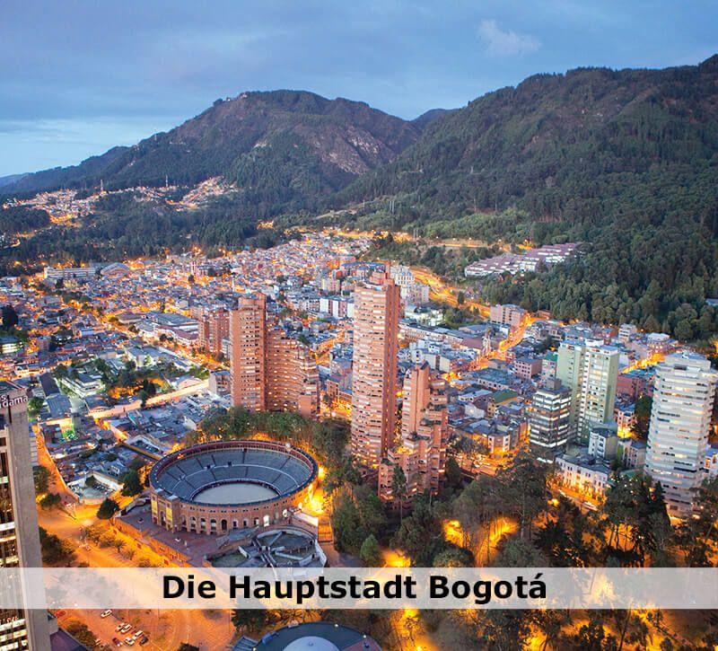 kolumbien kolumbien hauptstadt berge und meer