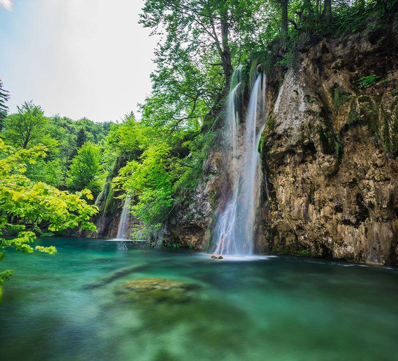 kroatien nwfoto berge und meer
