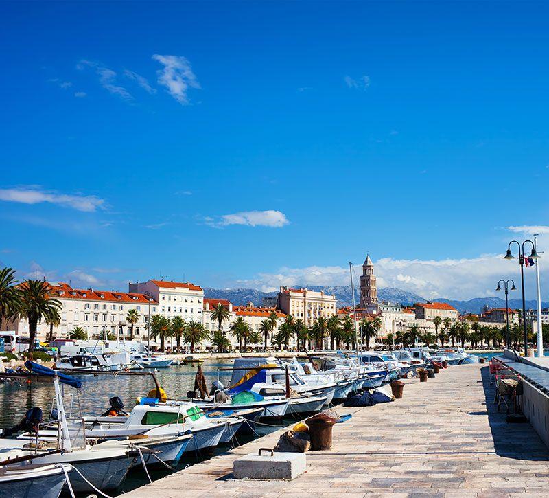 kroatien berge und meer