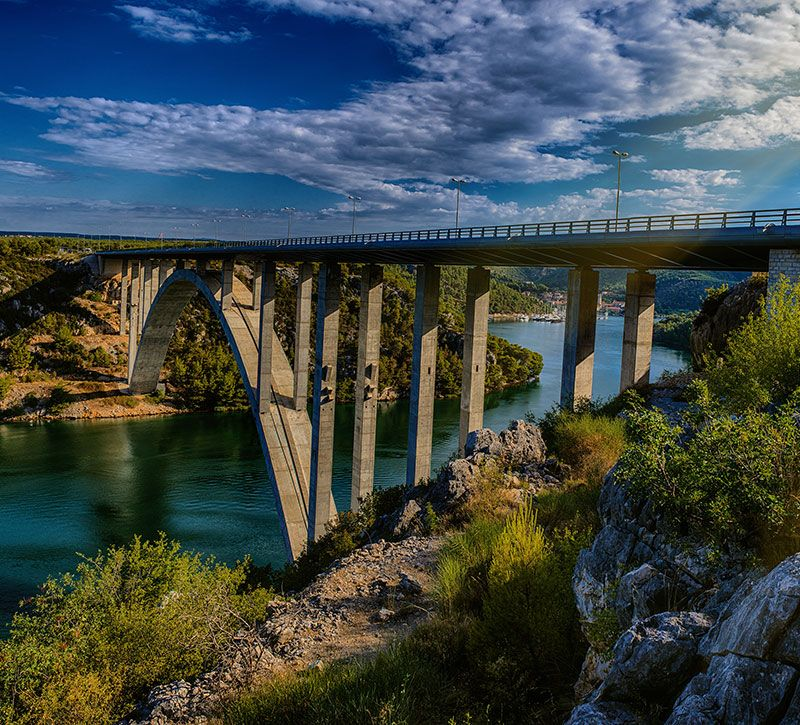 kroatien panorama of krka national park is one of croatian bestphotostudio berge und meer