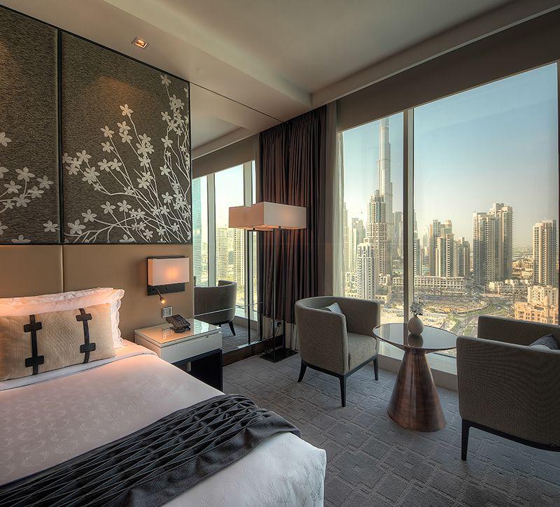 steigenberger gutschein Businessbay VAE Dubai zimmer berge und meer