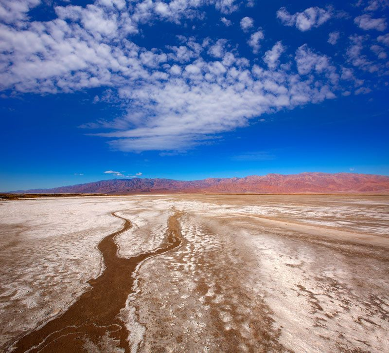 usa las vergas death valley berge und meer