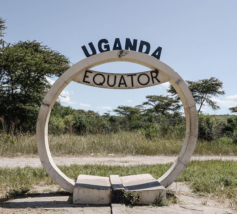 uganda berge und meer