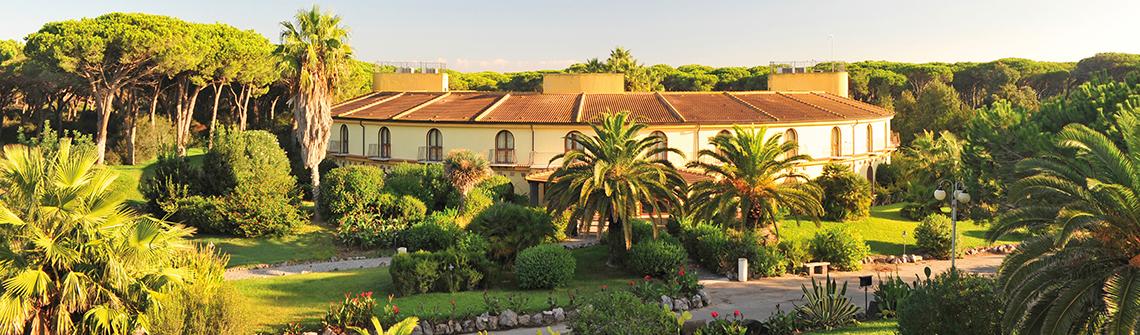 Horse Country Resort Congress Spa Auf Sardinien Berge Meer