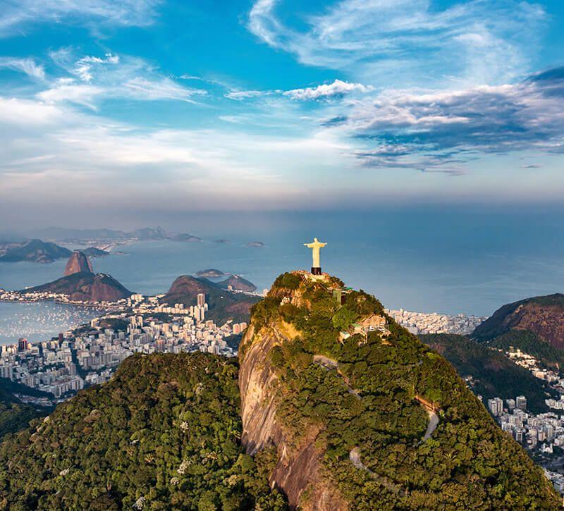 brasilien brasilien berge und meer