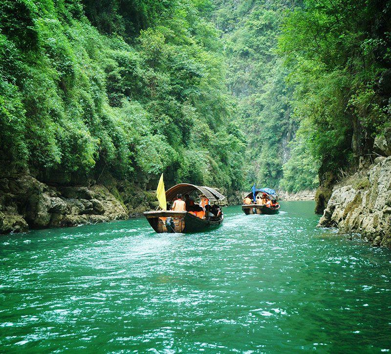 china yangtze berge und meer