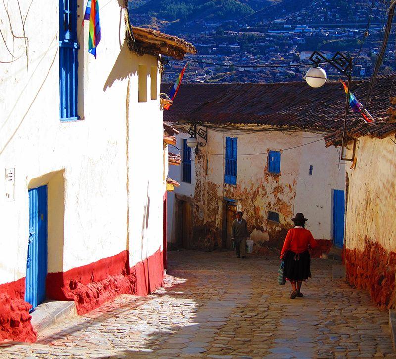 peru cusco berge und meer