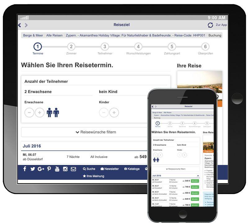 info app buchen terminauswahl berge und meer