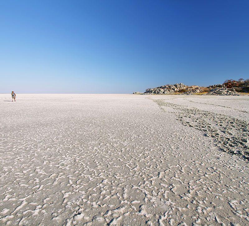 botswana makgadikgadi berge und meer