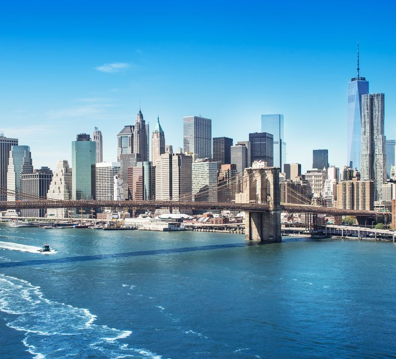 usa new york berge und meer