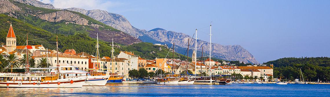 Kroatien Makarska berge und meer