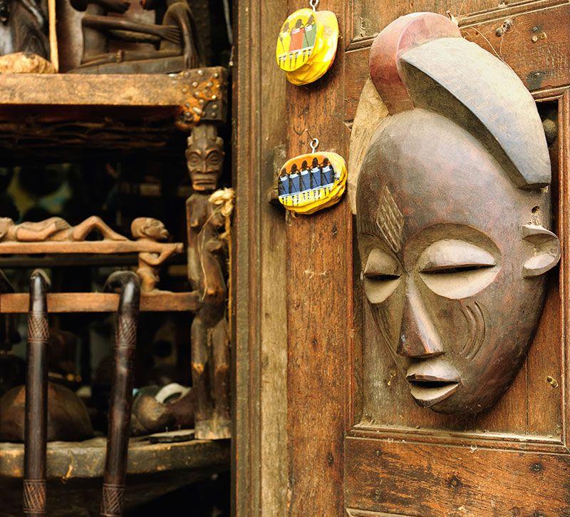 tansania kunst berge und meer