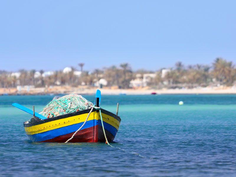 tunesien djerba berge und meer