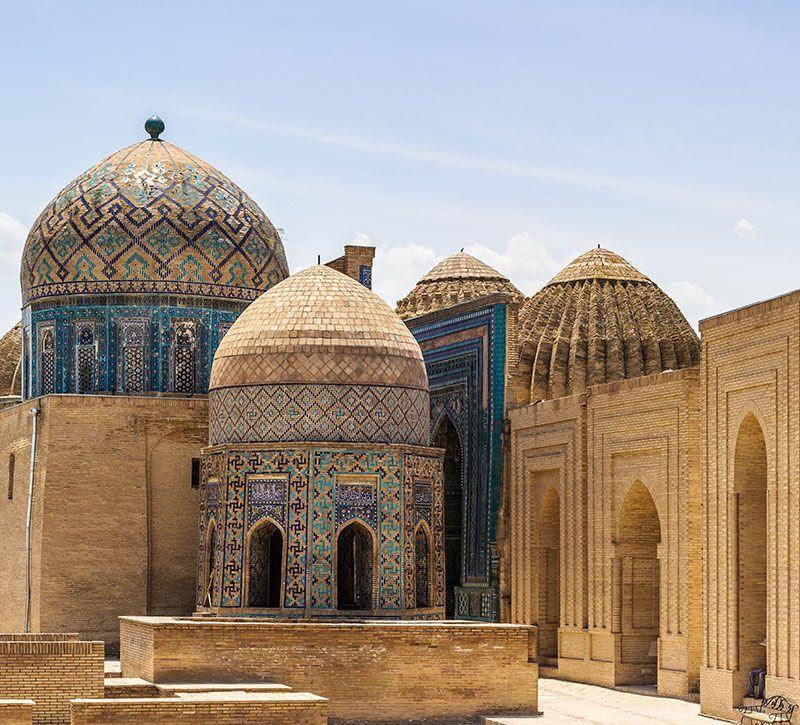 usbekistan samarkand berge und meer