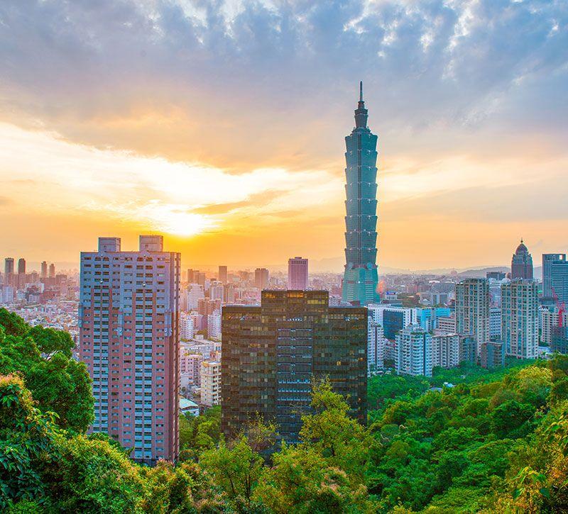 taiwan superjoseph taipei tower berge und meer