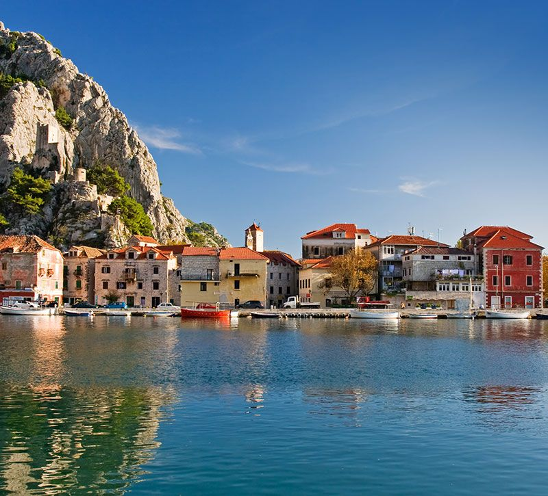 kroatien omis altstadt kroatien zbynek jirousek berge und meer