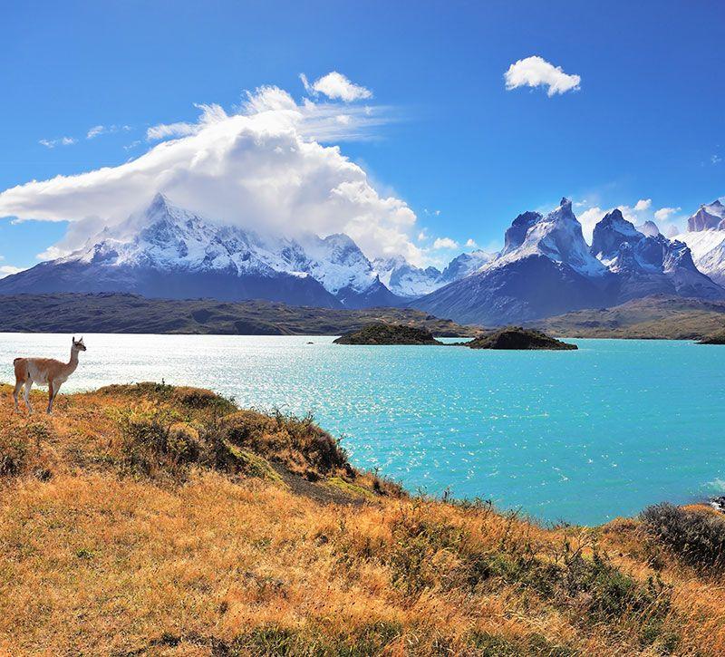 argentinien pampa berge und meer