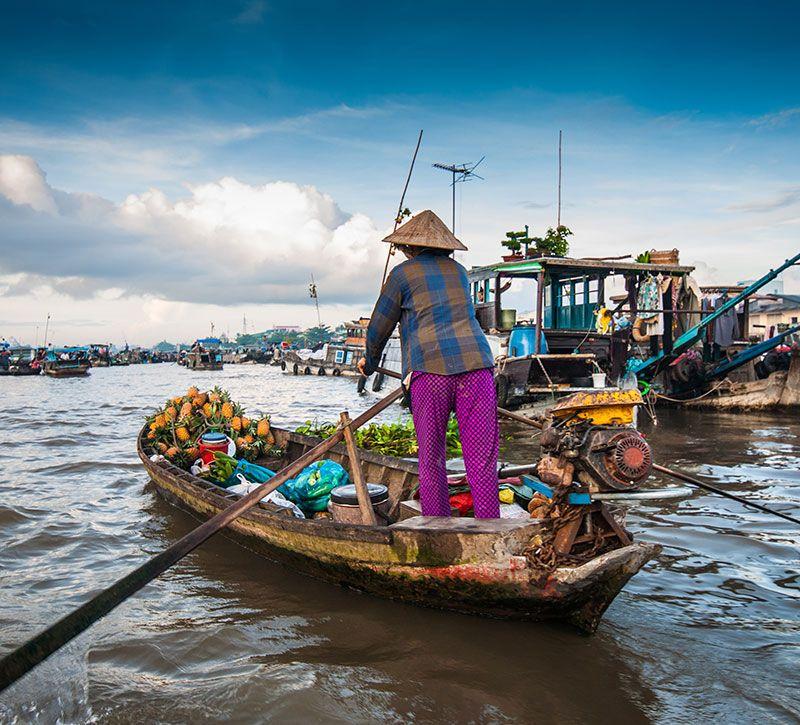vietnam can tho berge und meer