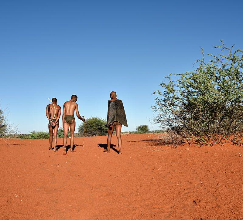 botswana einheimische berge und meer