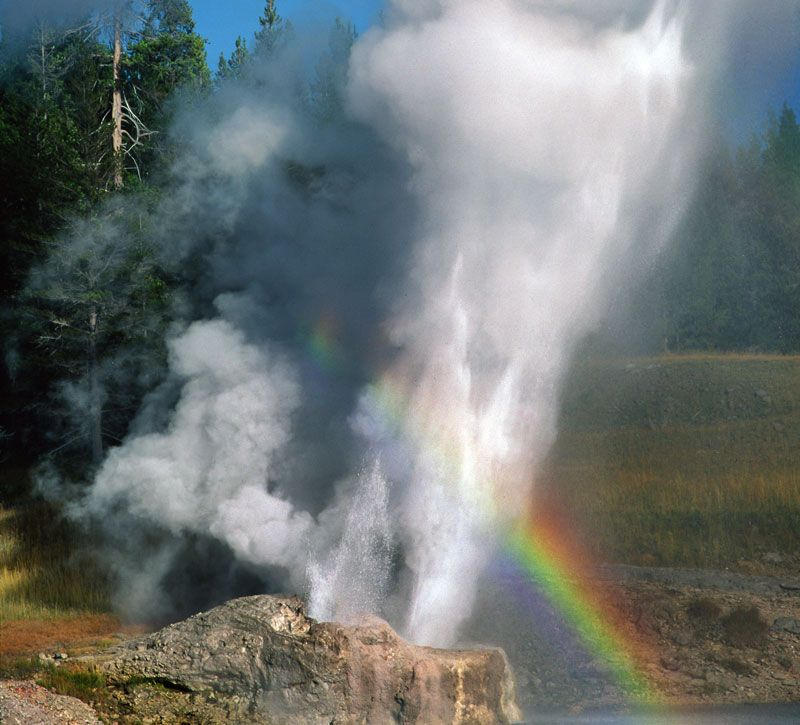 usa yellowstone berge und meer
