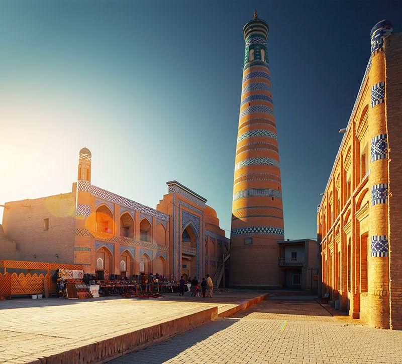 usbekistan islam chodja berge und meer