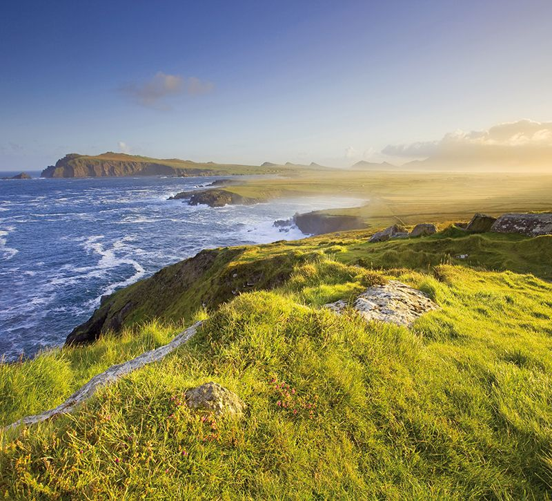irland dingle berge und meer