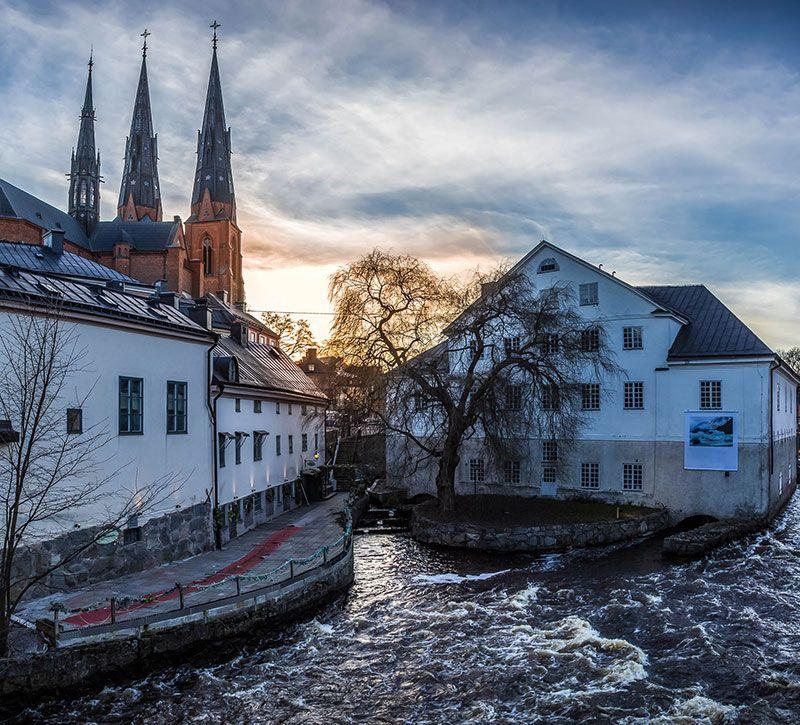 schweden uppsala berge und meer