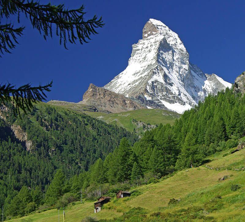 Schweiz Matterhorn Nahaufnahme berge und meer