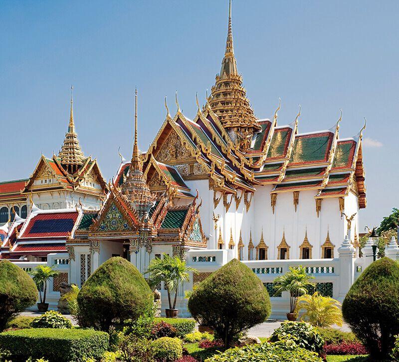 thailand k nigspalast berge und meer