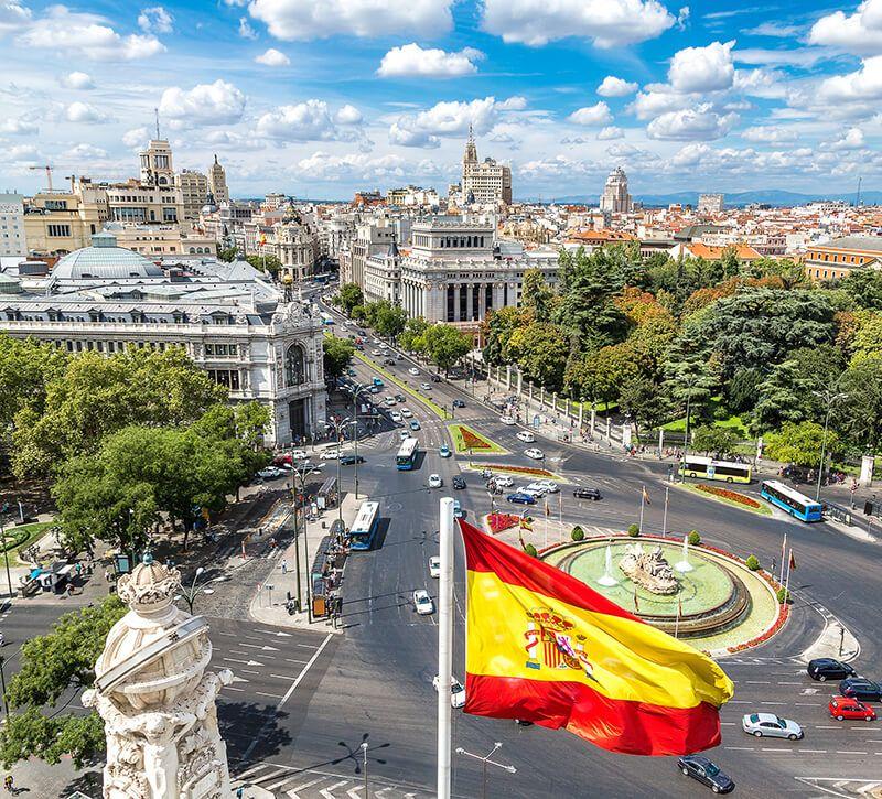 spanien madrid allgemein berge und meer