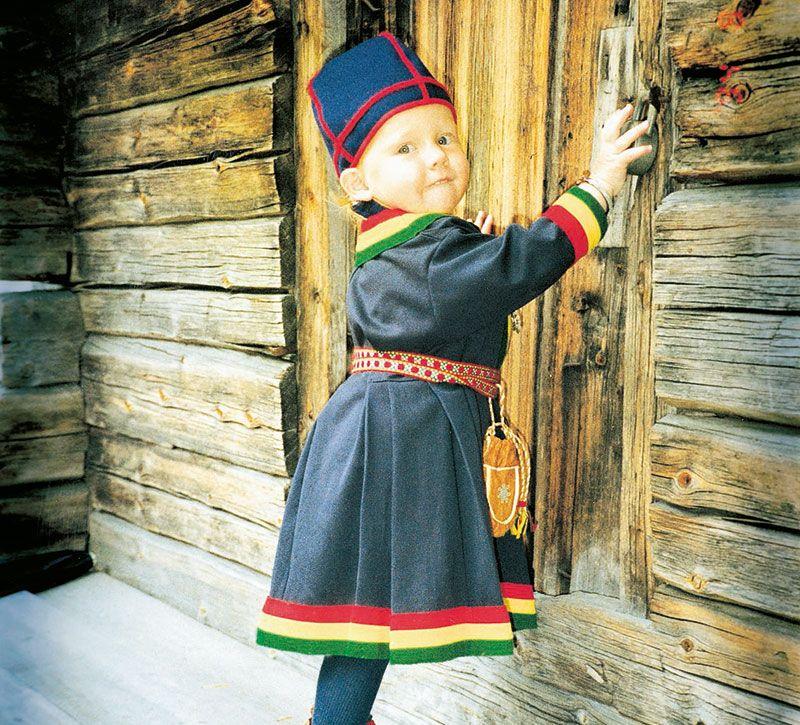 schweden kleinkind berge und meer