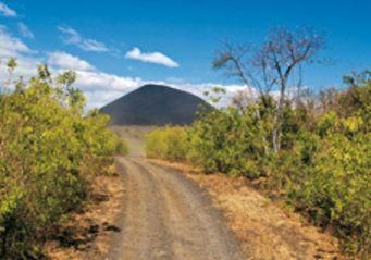 nicaragua naturreservat pilas el hoyo berge und meer