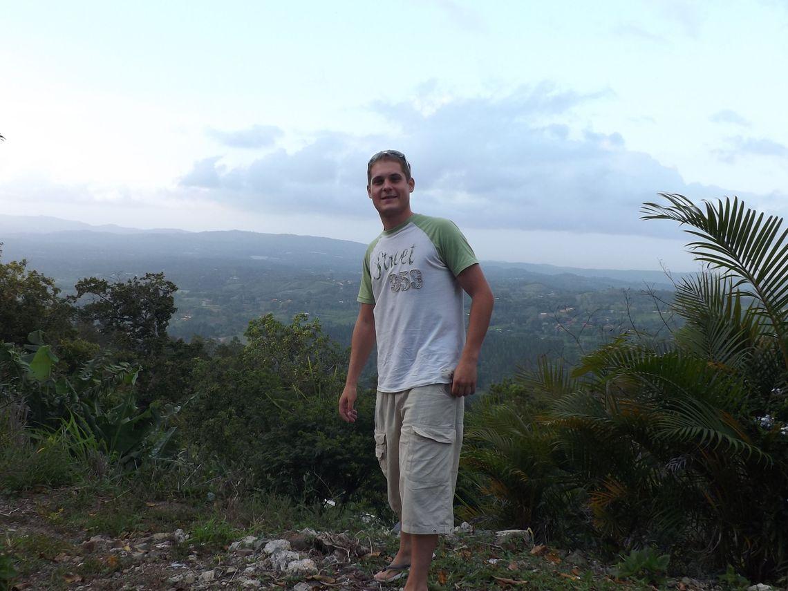 dominikanische republik dscf berge und meer