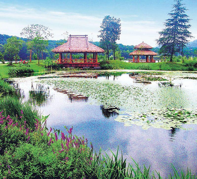 china hangzhou westsee berge und meer