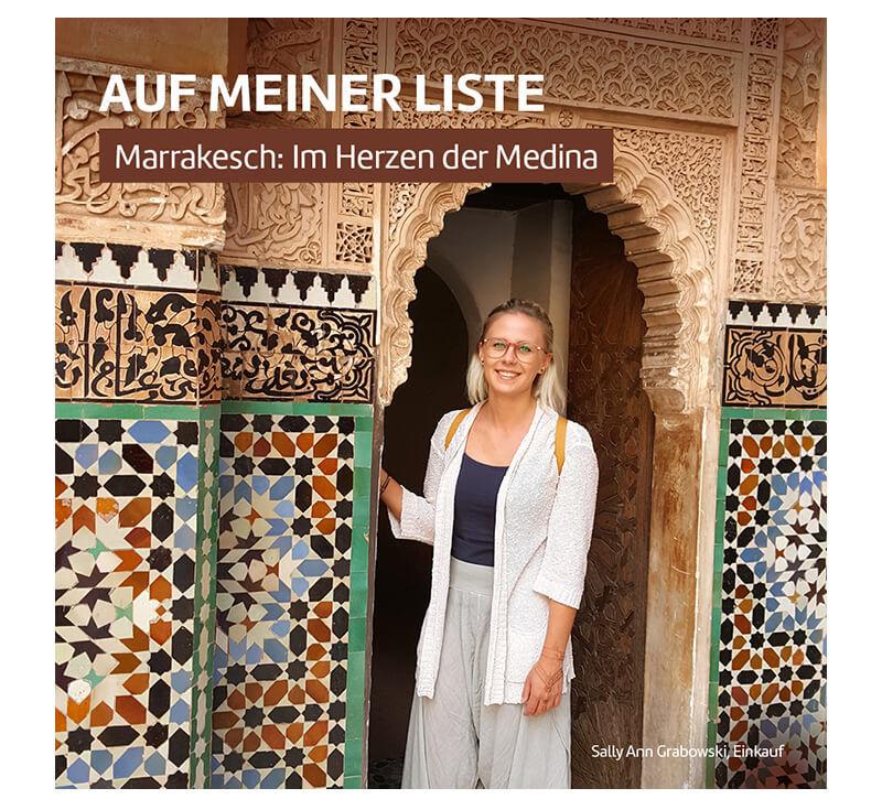 Marokko Marrakesch  berge und meer