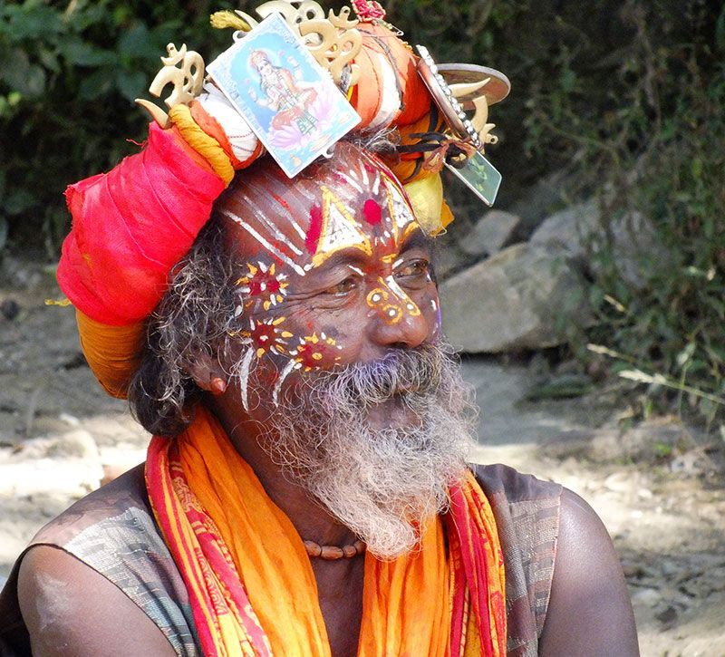nepal nepalese berge und meer