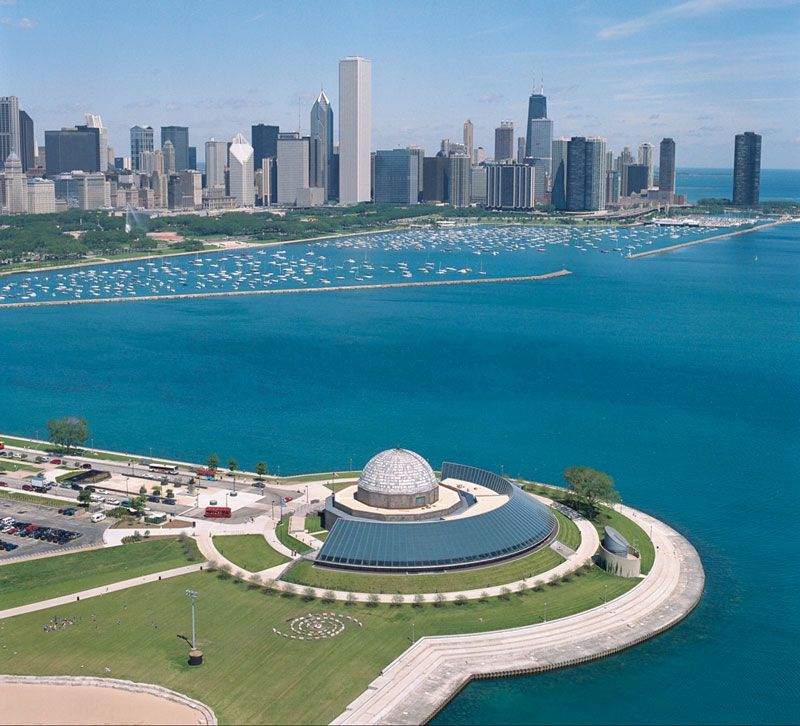 usa chicago berge und meer