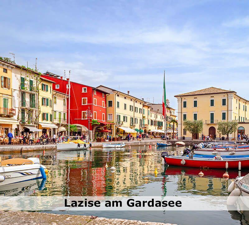 italien lazise berge und meer