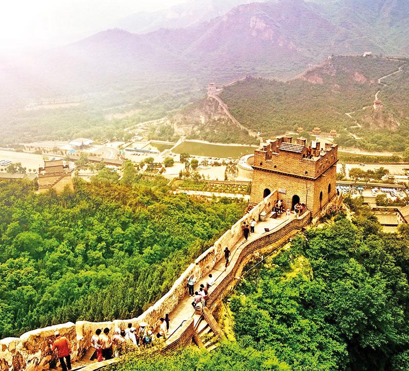 china berge und meer