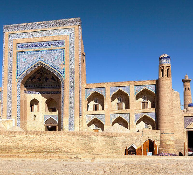 usbekistan amin kham berge und meer
