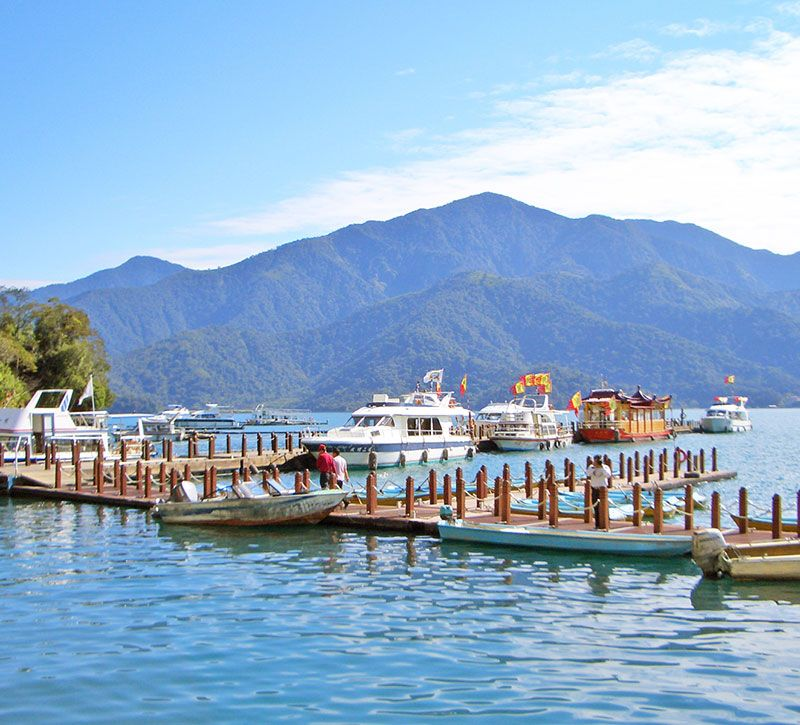 taiwan bm sun moon lake berge und meer