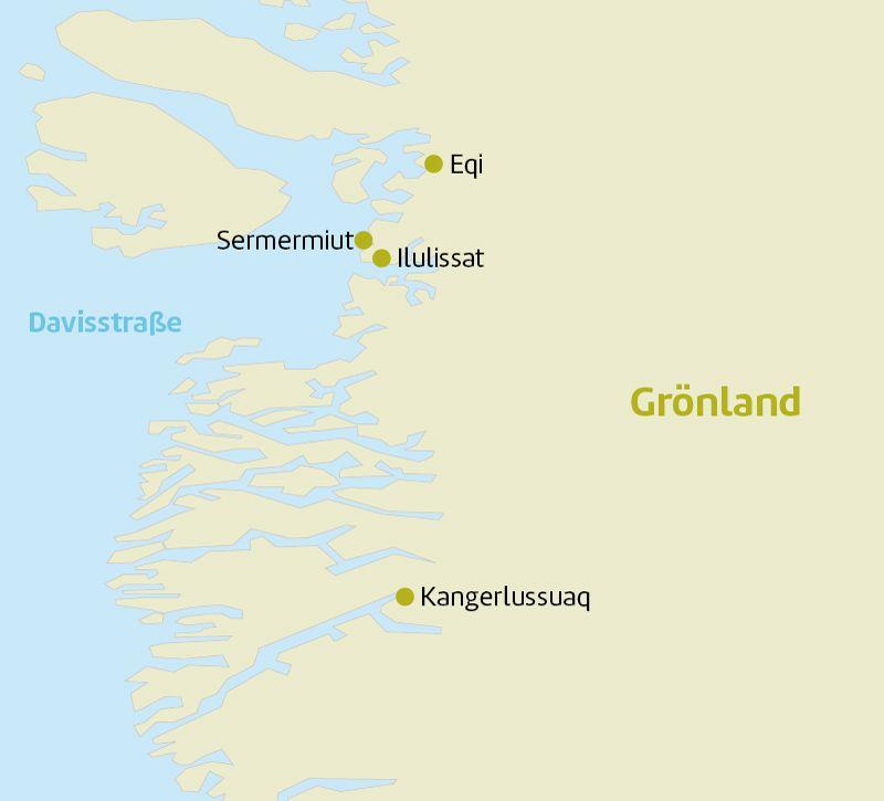 groenland groenland selfmailer oder laenderinfo bm berge und meer