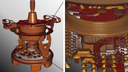 Teravoxel render for detail-rich visualization even at high magnification