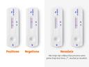 Prikazani rezultati testa CLINITEST Rapid COVID-19 Antigen Self-Test