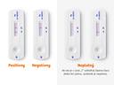 Zobrazené výsledky samotestu CLINITEST Rapid COVID-19 Antigen Self-Test