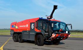 Der PANTHER 6x6 vom Dortmund Airport