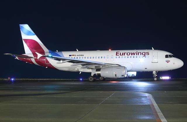 A319 - Eurowings Flugzeug