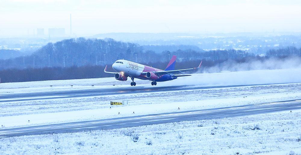 Wizz air winter dortmund airport