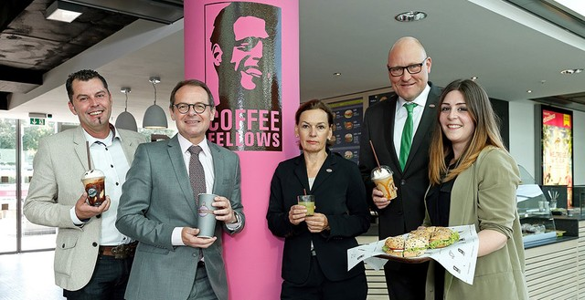 Coffe fellows eroeffnung