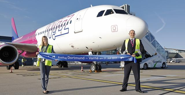 Wizz Air Maschine vor Erstflug